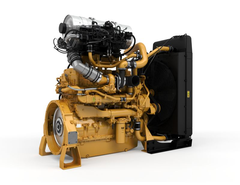 C15 Tier 4 Industrial Power Units - Highly Regulated