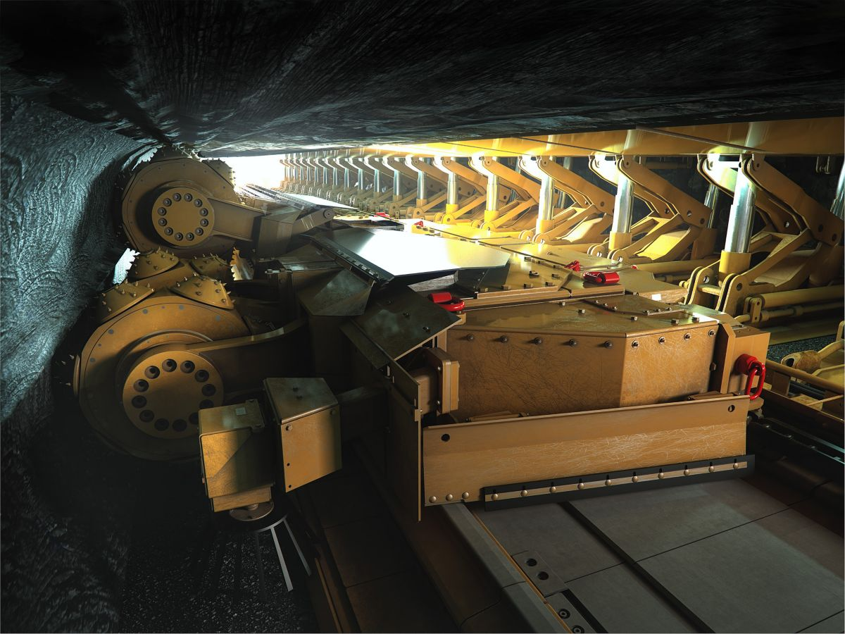 Rock Straight System: Hard Rock Longwall Mining System for Low Seam Deposits