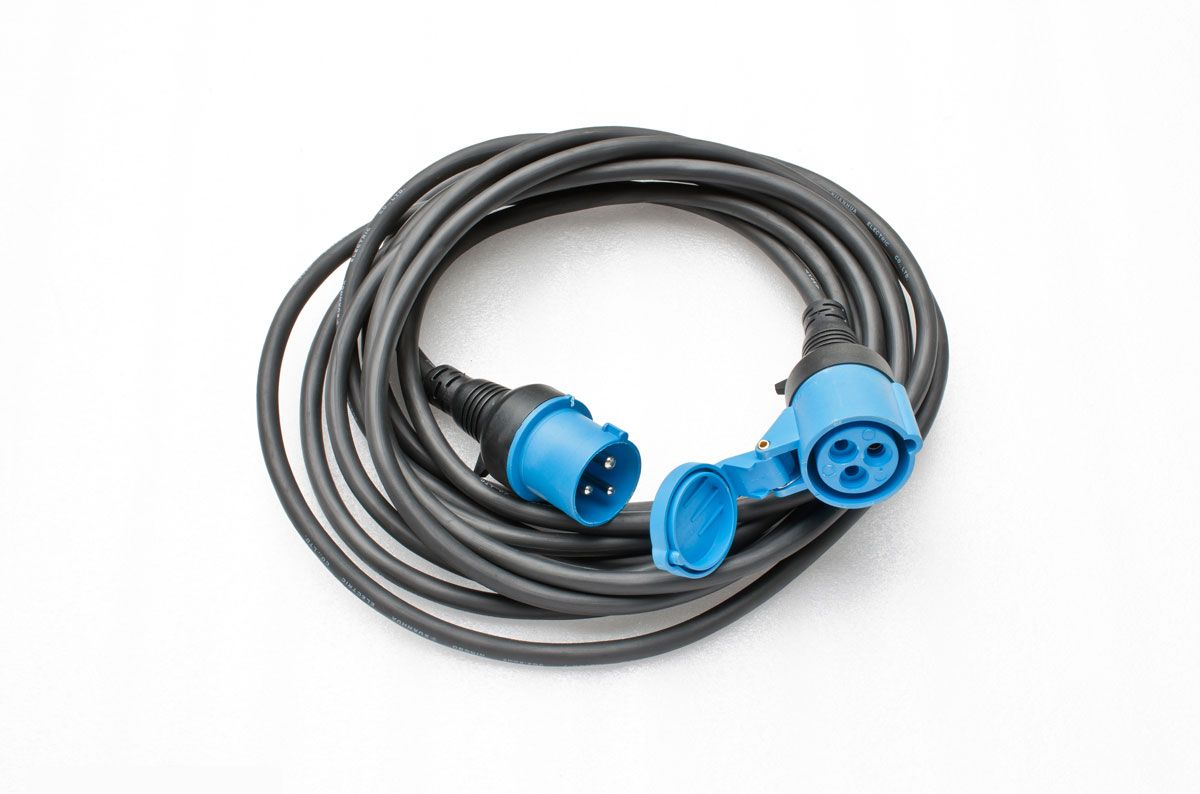Image for 230V Single Connector Power Cable (25 FT) from Omni UK Store