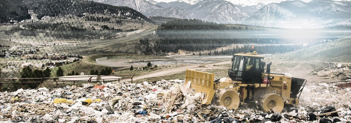 cat landfill solutions caterpillar