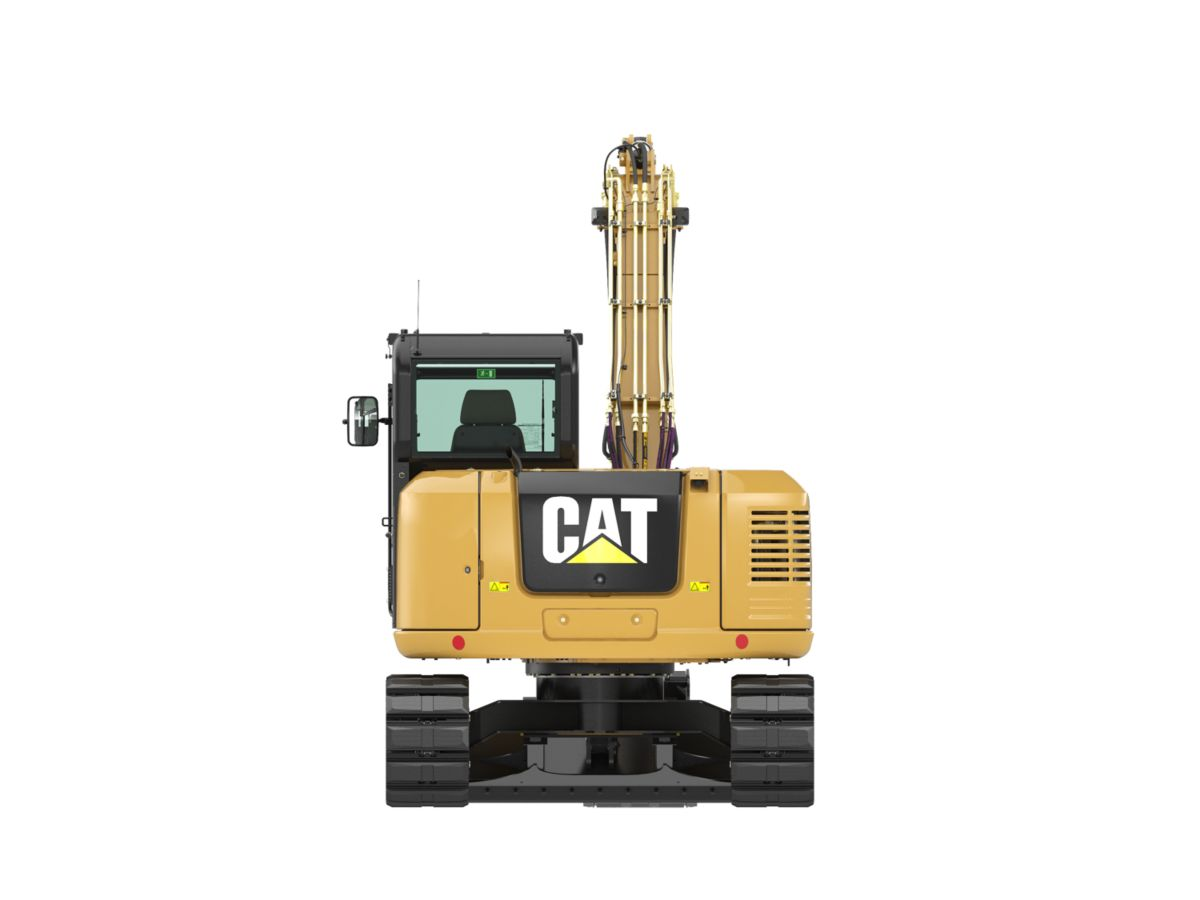 308E2 CR Mini Hydraulic Excavator with Swing Boom Order