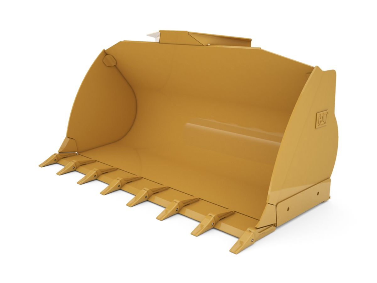 2.3 m3 (3.0 yd3) Pin On Flat Floor Bucket with welded on teeth