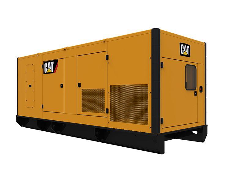Generator Set Enclosures - C18 Sound Attenuated Enclosure 50 and 60 Hz