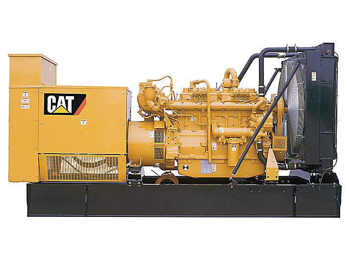 Cat G3406 108 5kw 155kw Natural Gas Generator