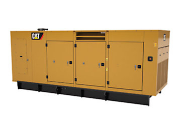 Foto del C13, C15, C18 WP Enclosure. 350-600 kW 60 Hz