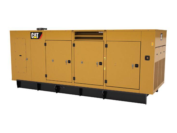 Generator Set Enclosures - C13, C15, C18 WP Enclosure. 350-600 kW 60 Hz