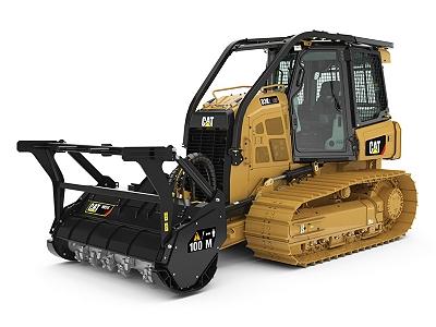 New Caterpillar D3K2 Mulcher - Cleveland Brothers Cat