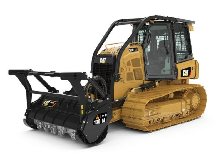 Tracteurs - Débroussailleuse-déchiqueteuse D3K2