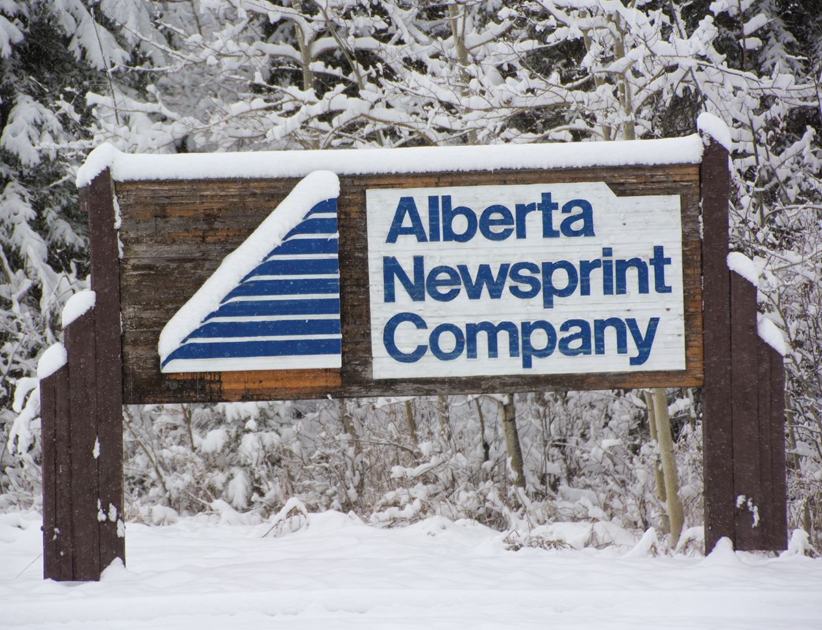 Alberta Newsprint