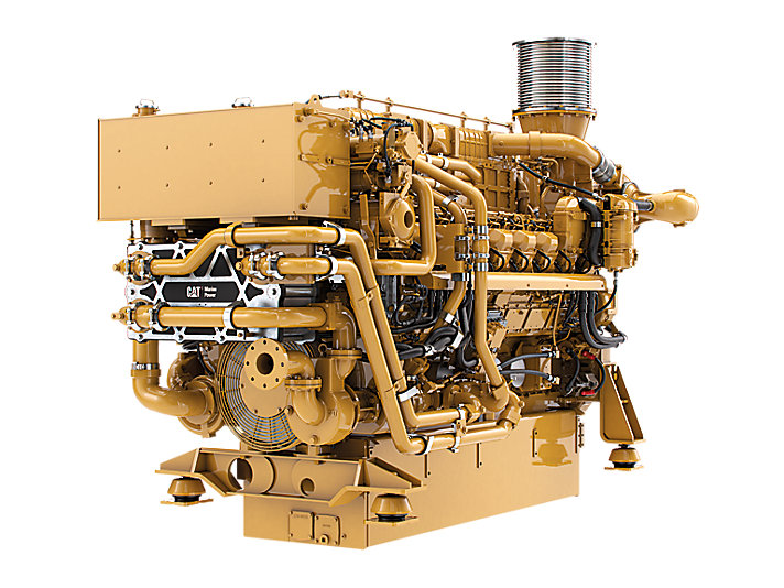3516E Marine Auxiliary/DEP Engine (U.S. EPA Tier 4 Final)
