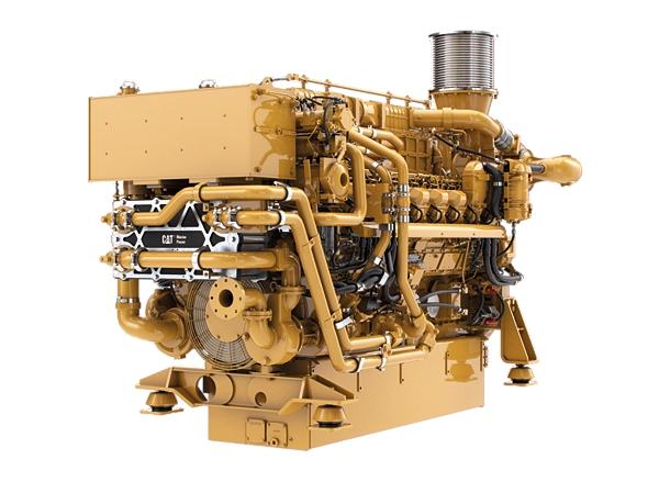 3516E Marine Auxiliary Engine (U.S. EPA Tier 4 Final)