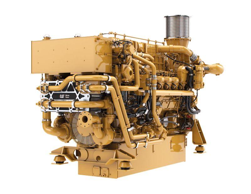 3516E Marine Auxiliary/DEP Engine (U.S. EPA Tier 4 Final)