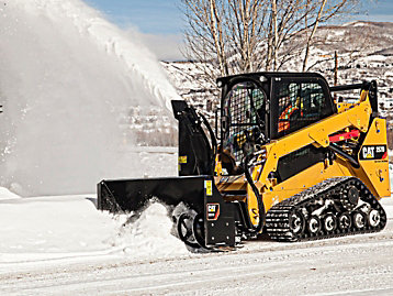 Cat Landscaping Equipment Snow Removal Equipment