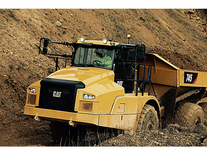 Cat | 745 Articulated Haul Truck | Caterpillar