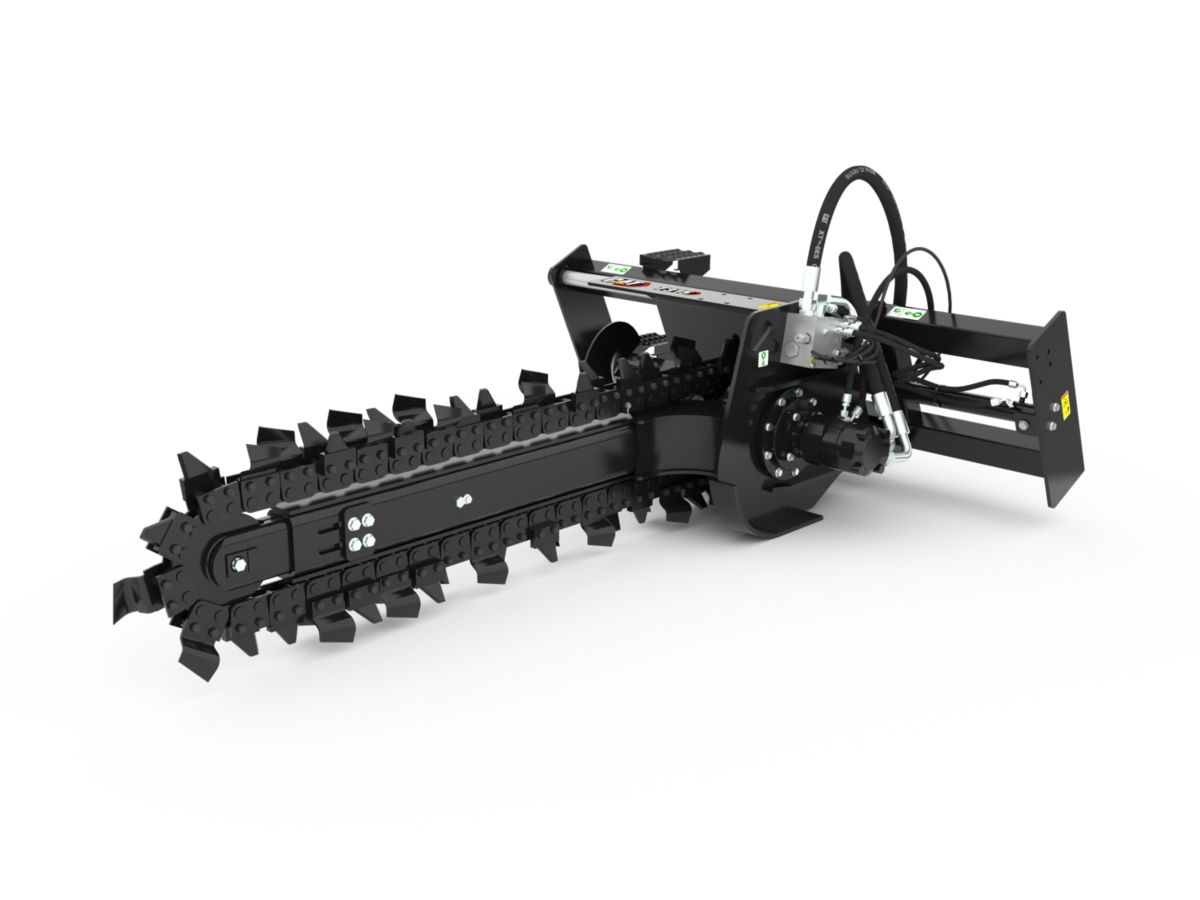 T15B High Flow Trencher with combo teeth