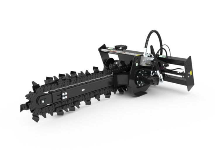 Trenchers - T315 Hydraulic Side Shift