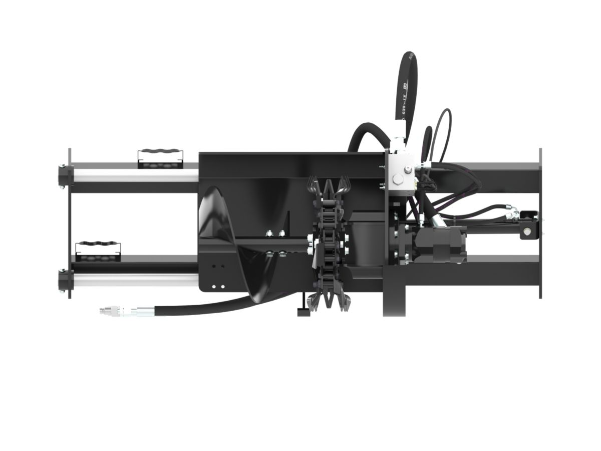 Gallery T15B Hydraulic Side Shift