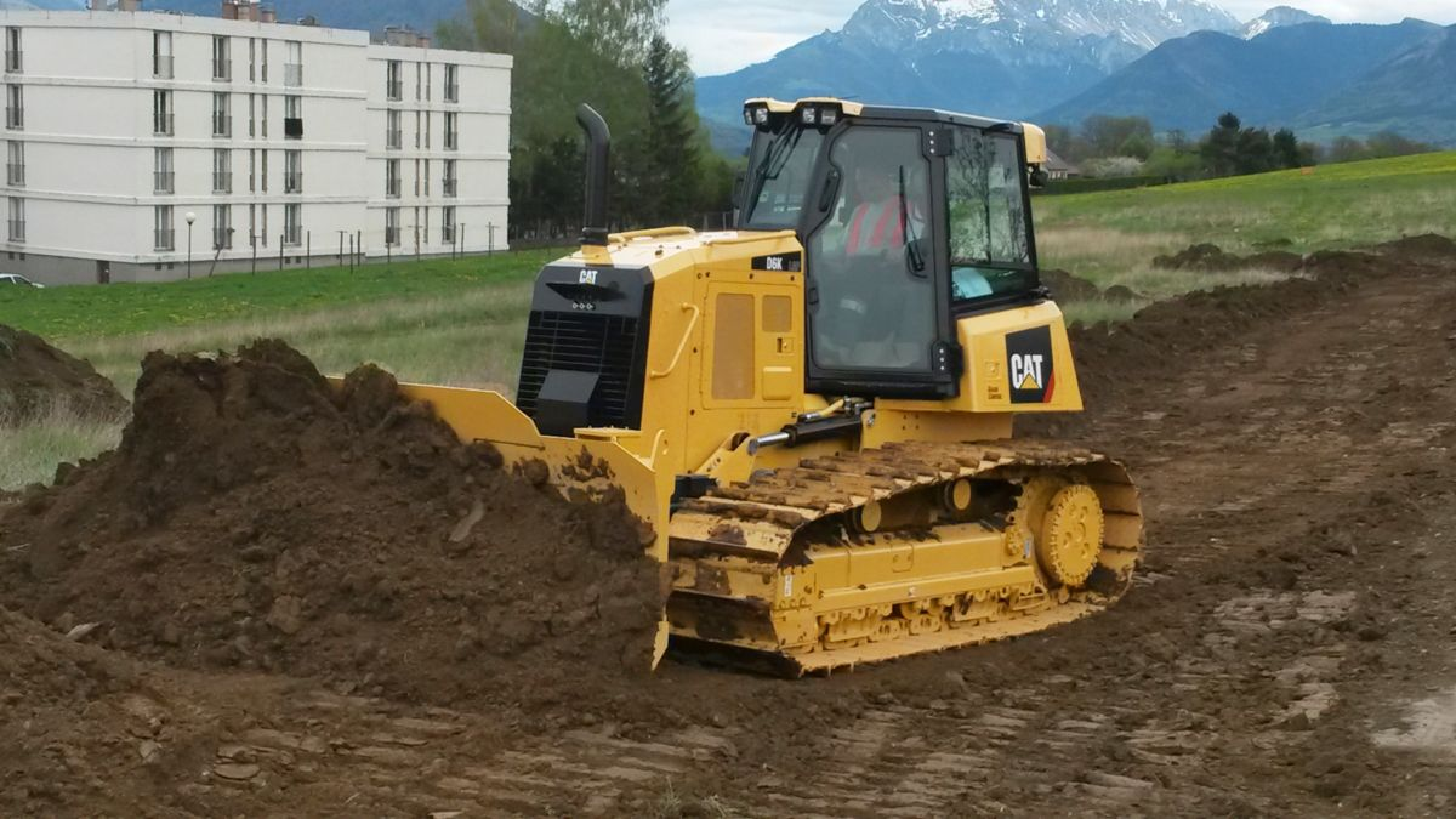 Tractor Topador D6K