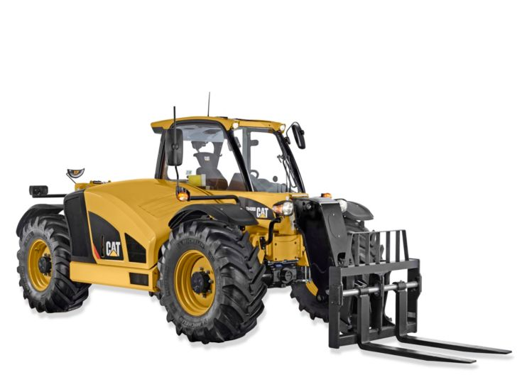 Skid Steer and Compact Track Loaders - TH408D Ag Handler