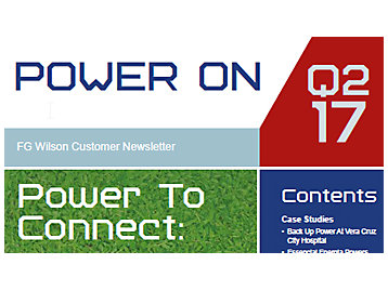 FG Wilson Customer Magazine