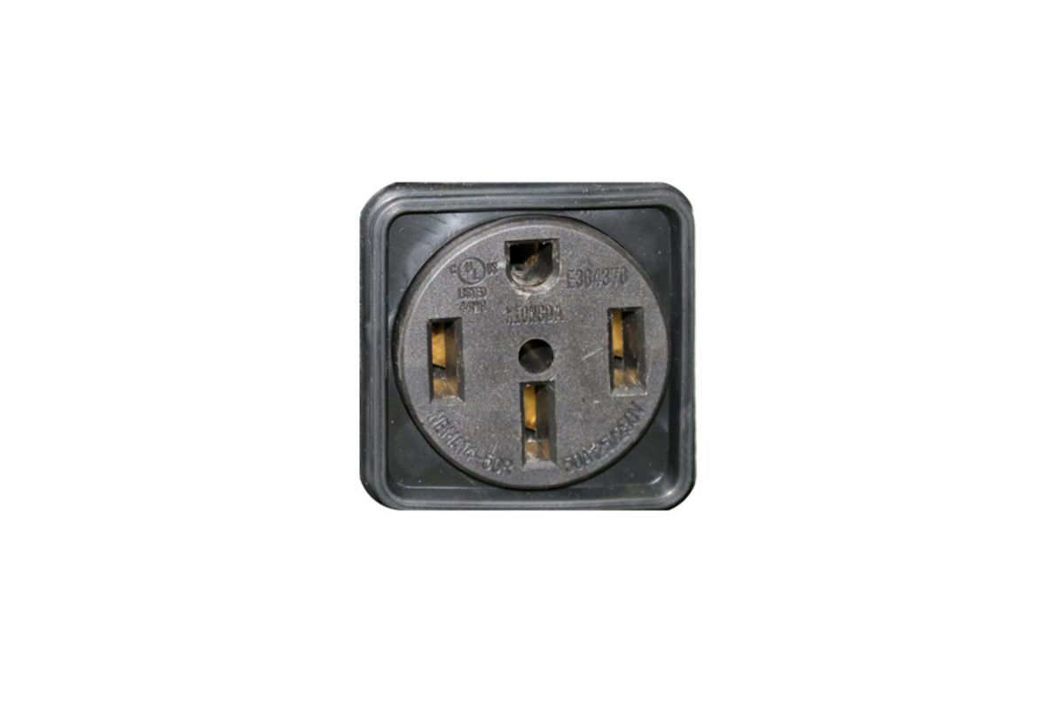 Image for 240VAC Locking Outlet from Omni CA Store