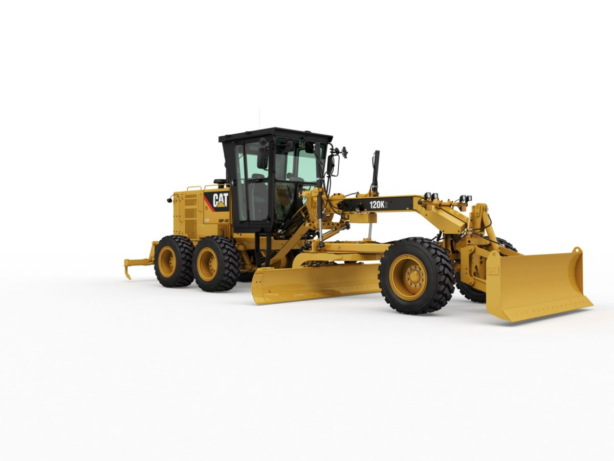 Cat | 120K2 Motor Grader | Caterpillar