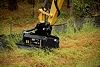 Cat® HMF210 Flail Mower at Work