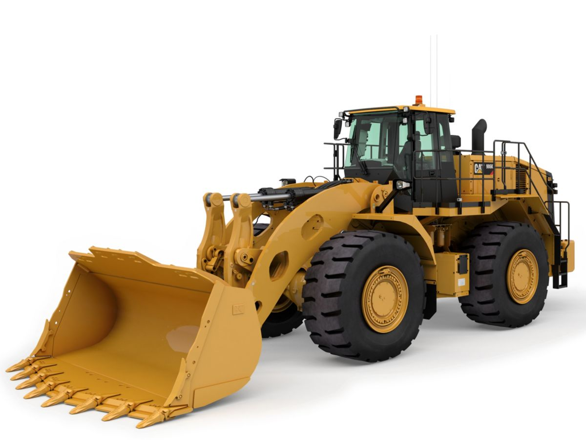 986K wheel-loaders