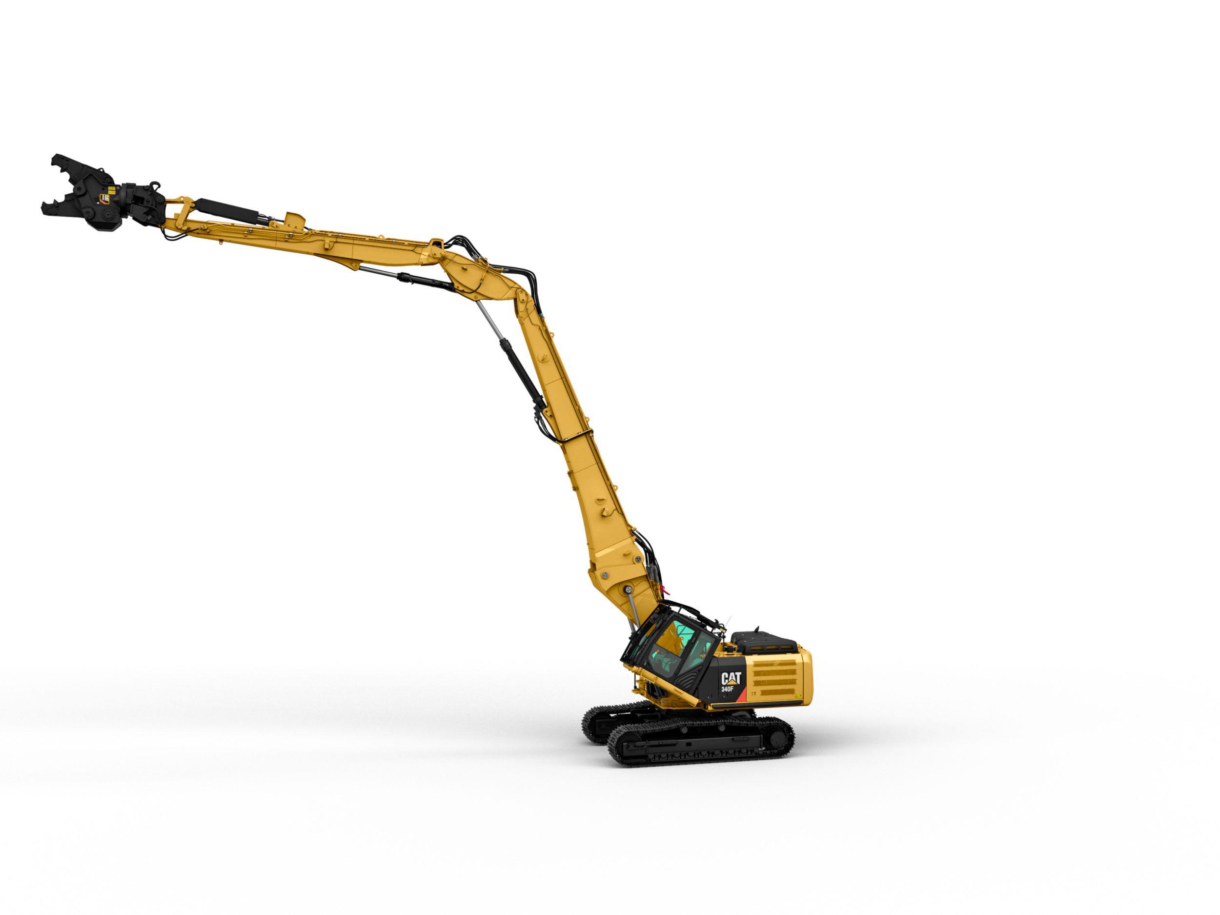 340F UHD Ultra High Demolition Hydraulic Excavator