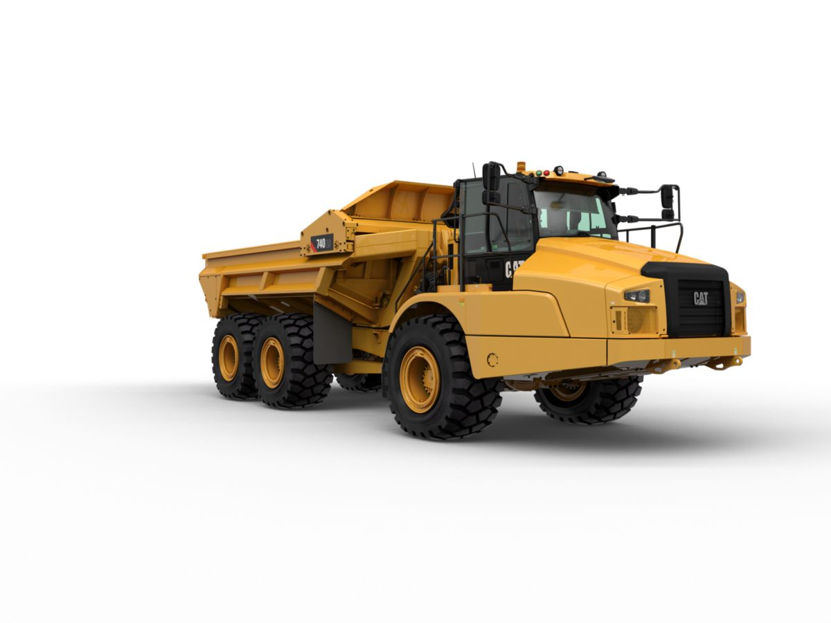 New 740 Ej Articulated Truck Equipment Id 1000034268