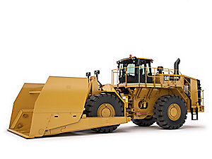 834K Scoop Large Wheel Dozer