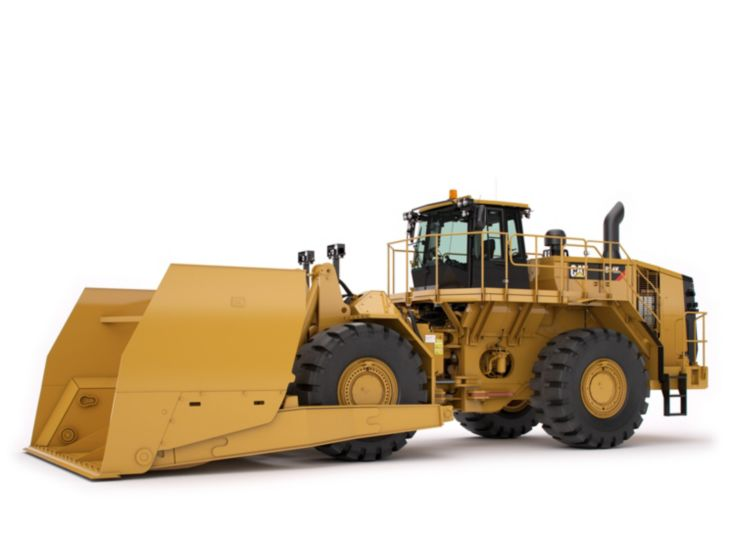 Motor Graders - 834K Scoops for Coal & Woodchips