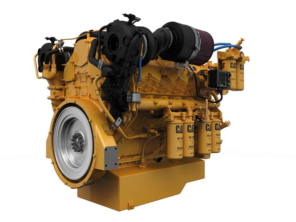 Cat C32 Marine Propulsion (US EPA Tier 3 / IMO II)