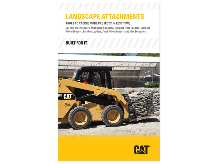 Cat Attachments for landscaping