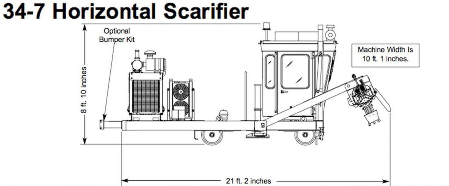 34-7 Horizontal Scarifier