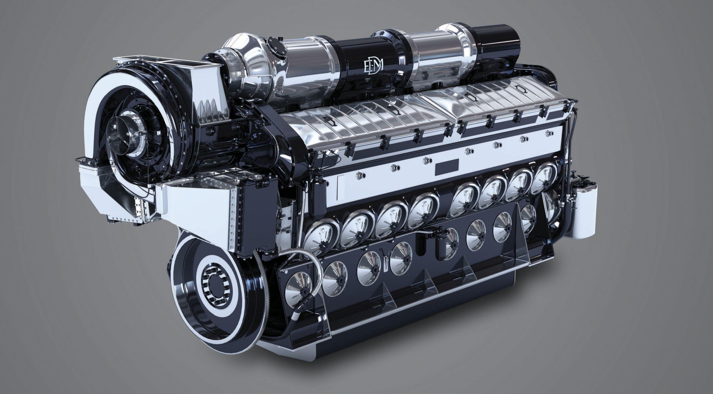 Progress Rail | EMD 710 Locomotive Engine