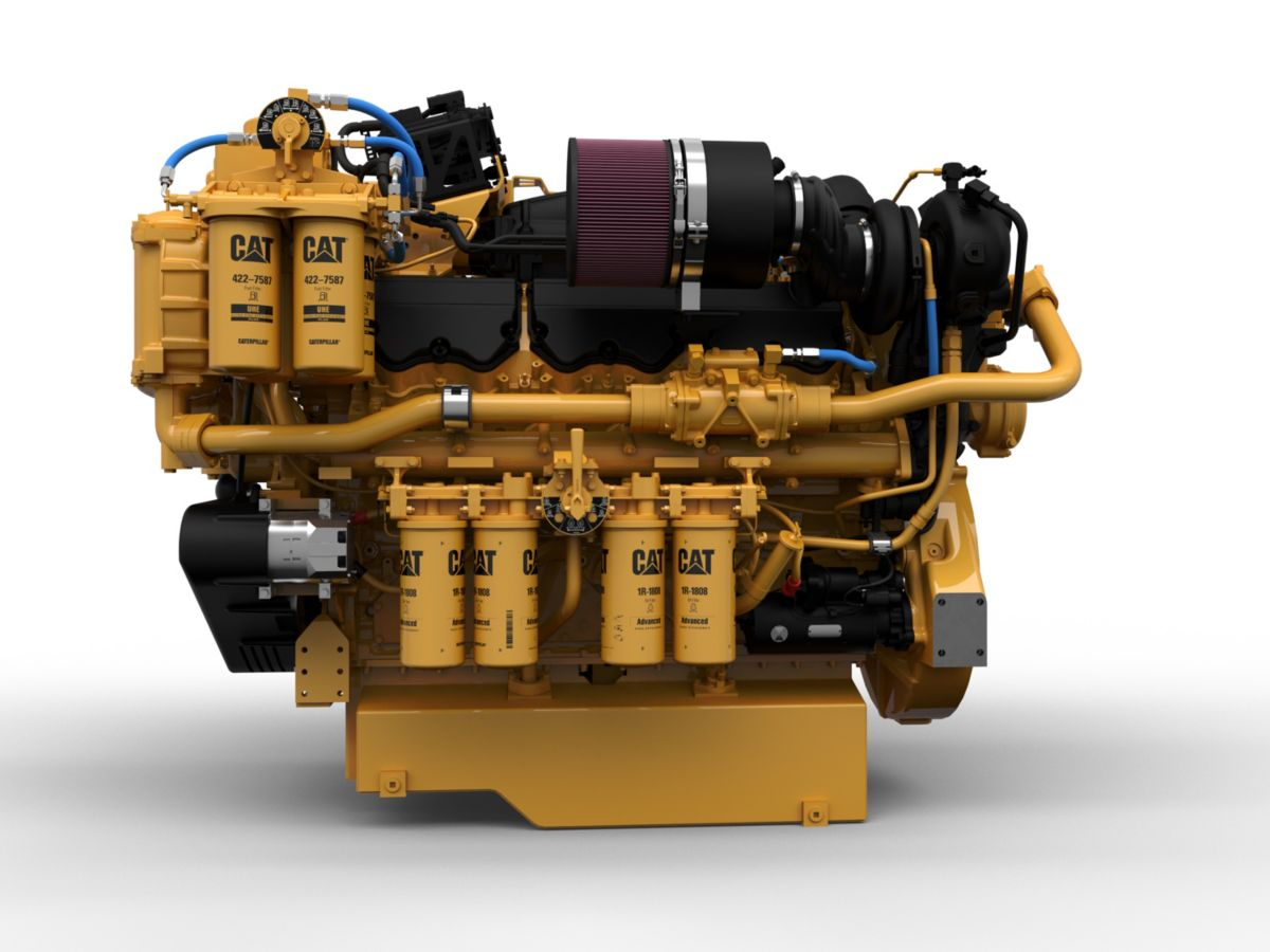 Cat C32 Auxiliary / Diesel Electric Propulsion Engine (US EPA Tier 4 / IMO III)>