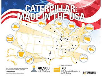 Caterpillar: Made in the USA