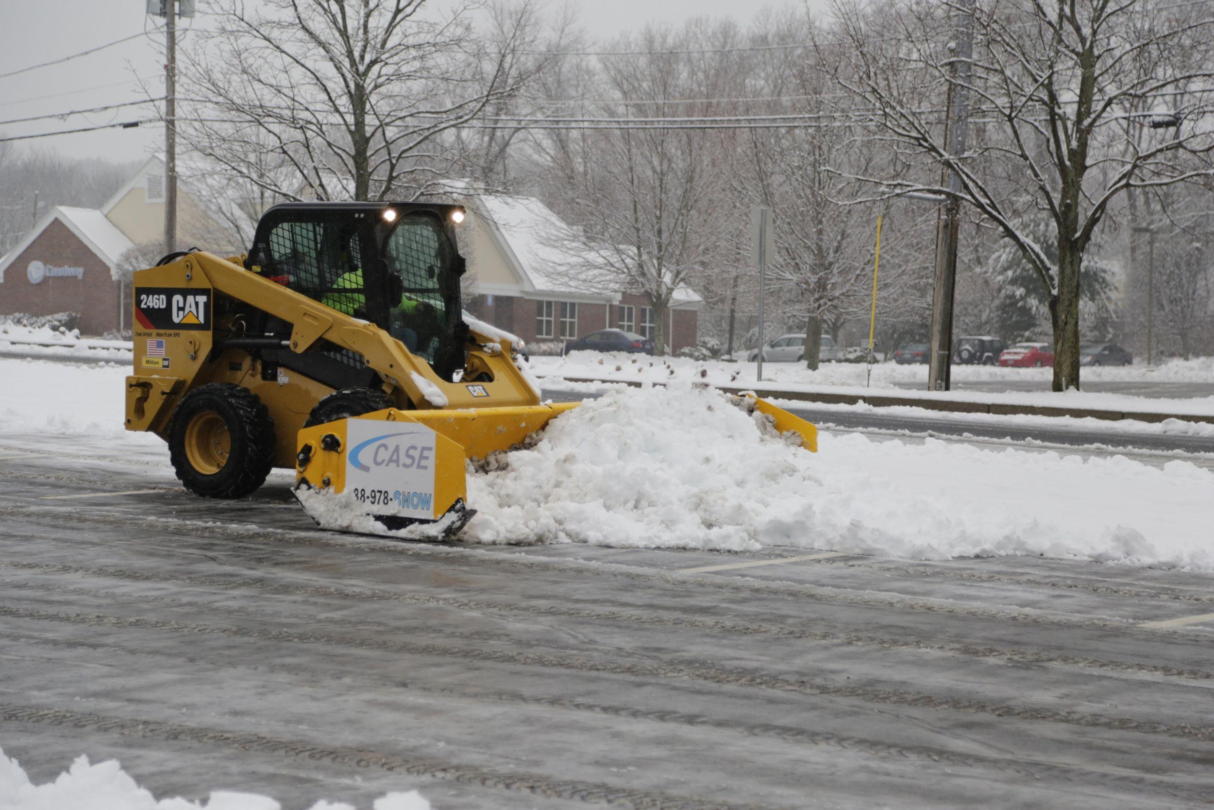 Cat® Machines Help Case Snow Management Tackle Winter Weather