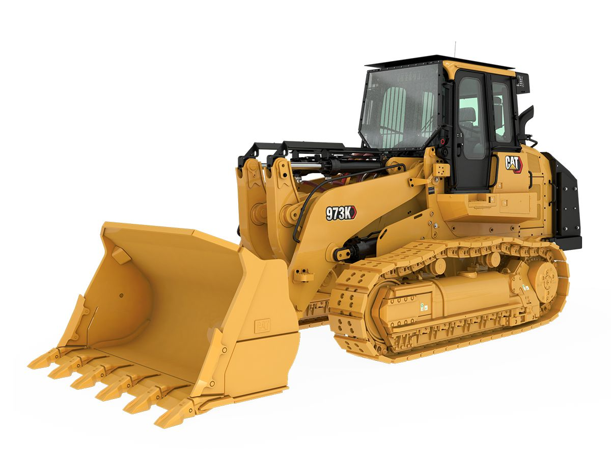 product-973K Track Loader - Steel Mill Configuration