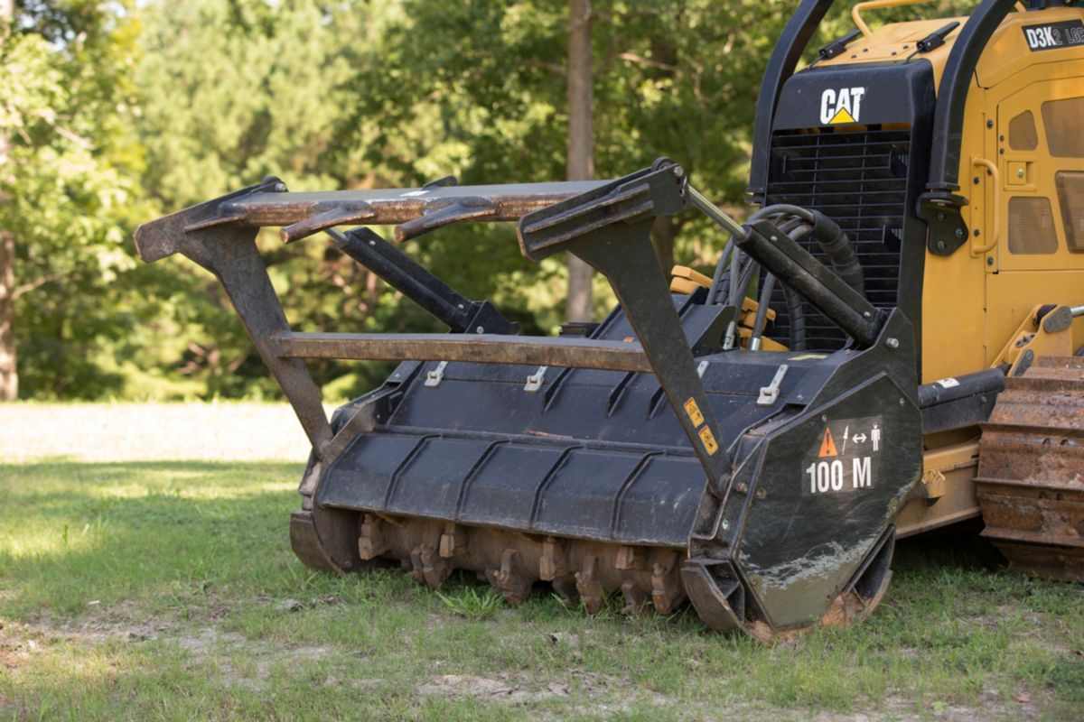 New D3K2 Mulcher Dozers For Sale | Carter Machinery