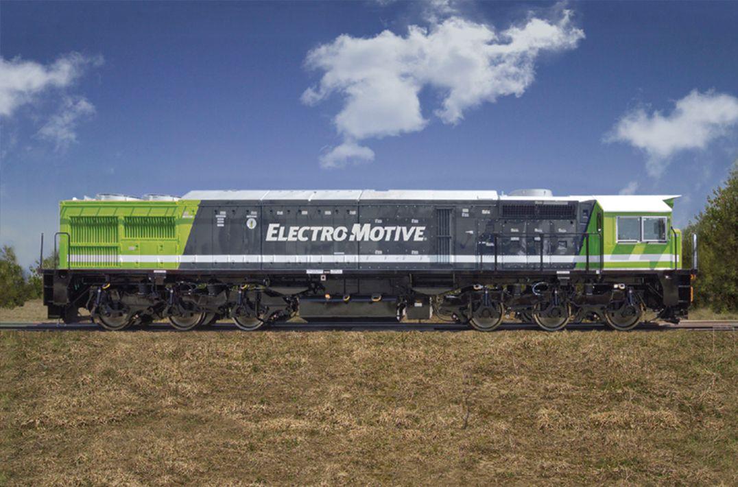 EMD® GT42AC Freight Locomotive