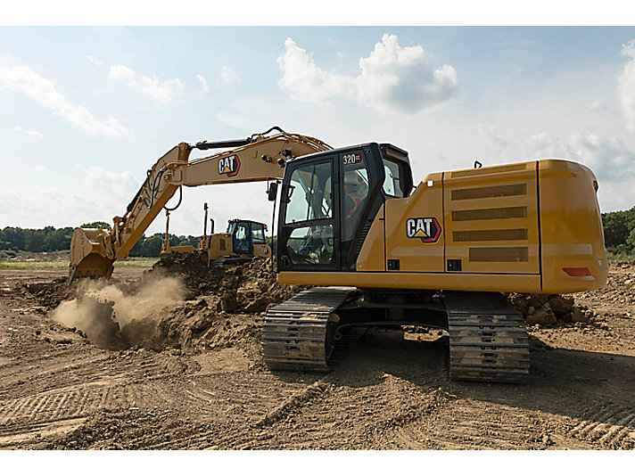 320 GC Medium Hydraulic Excavator