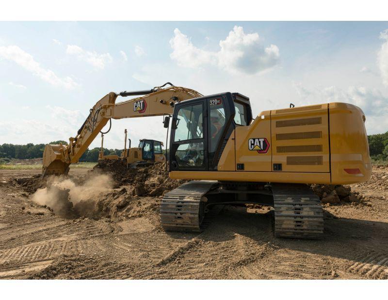 320 GC Medium Hydraulic Excavator