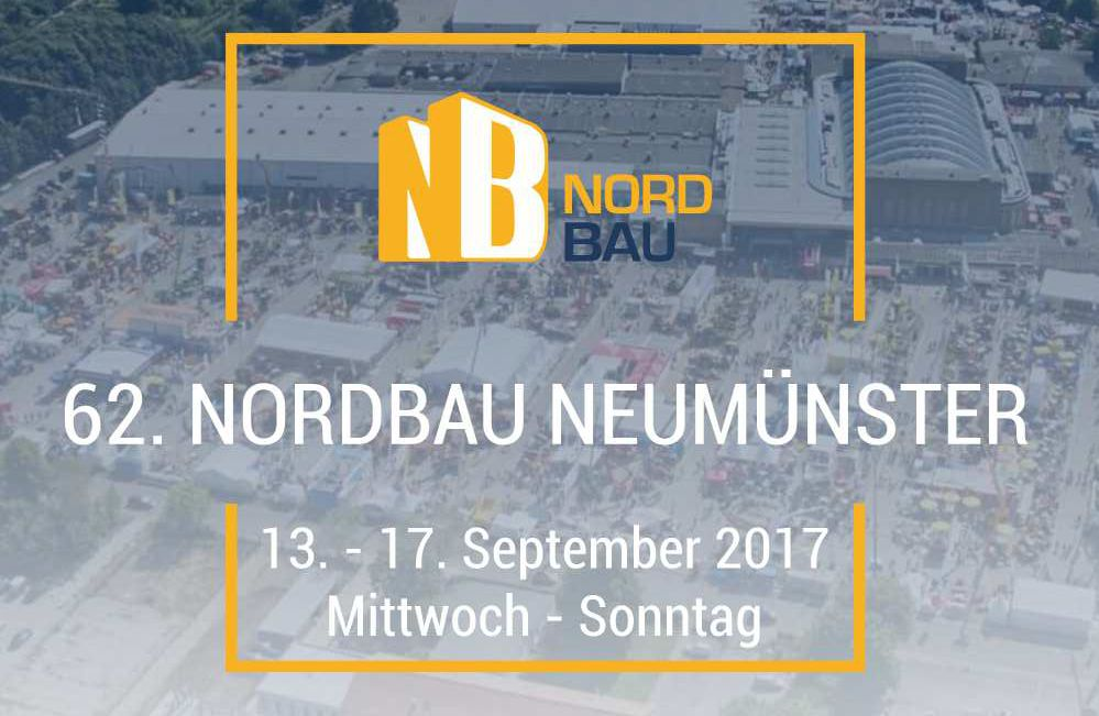 NordBau in Neumünster von 13-17 September 2017