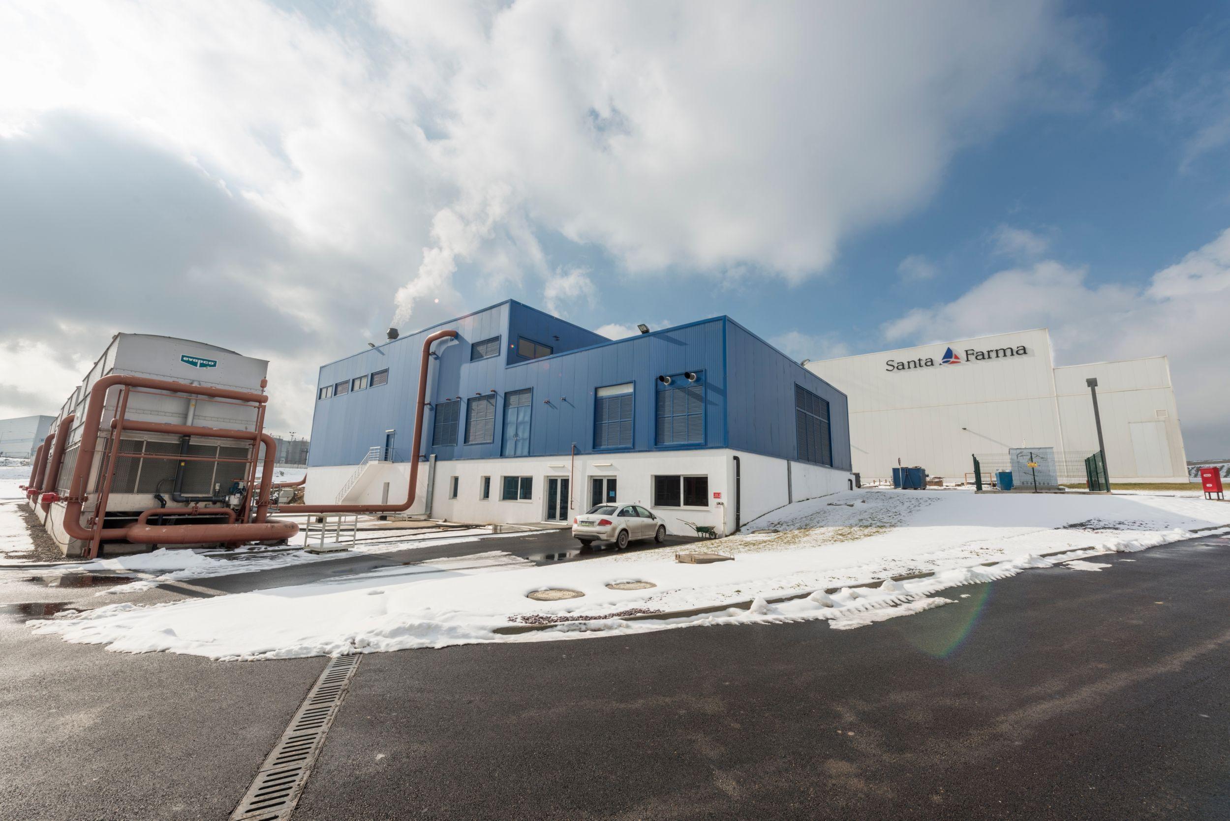 Santa Farma Medicine Production standby power