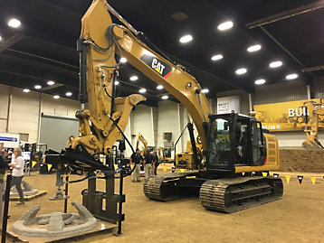 In 2018, Caterpillar hosted phase 2 of NASA's 3D-Printed Habitat Challenge.