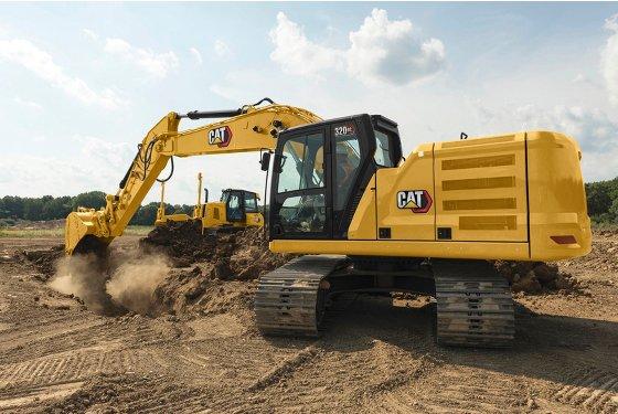 320 GC Hydraulic Excavator, Medium Excavators - Gough Cat