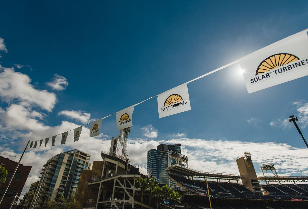 Solar held their 90th celebration in downtown San Diego's beautiful Petco Park.