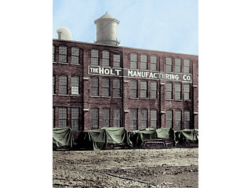 The former Holt plant in East Peoria became the company's largest manufacturing center after the 1925 merger.